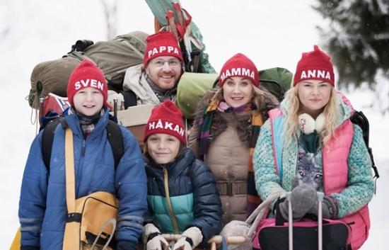 Imagen de Los Andersson en la nieve (Sune i fjällen)