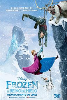 cartel de la pelicula frozen