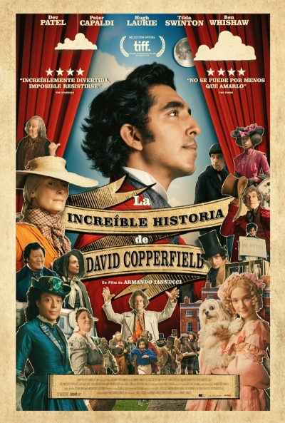 Póster de La increíble historia de David Copperfield