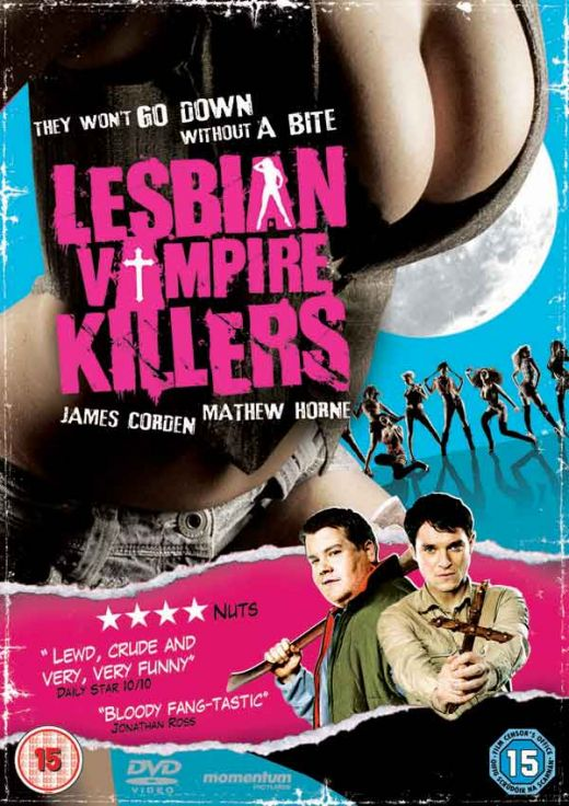 Words... Emer kenny in lesbian vampire killers opinion the