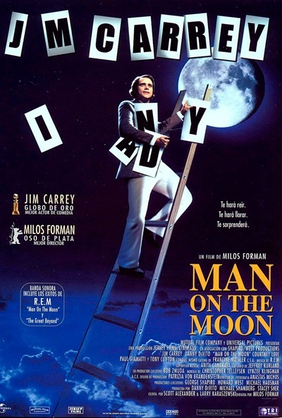 Póster de Man on the Moon