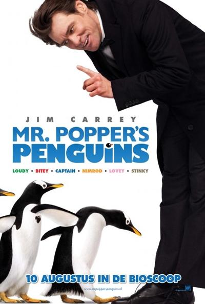 Jim Carrey y los pingüinos: \'Mr. Popper\'s Penguins\' - El Séptimo Arte
