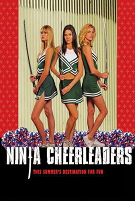 Póster de Ninja Cheerleaders
