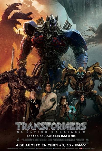 Transformers 5 El Ultimo Caballero (2017) [BrRip 720p][Subtitulada][MEGA]