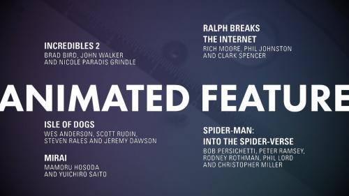 Ganadores 91ª edición de los premios Oscar 101426