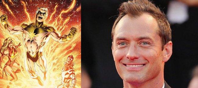 Jude Law será el mentor de Brie Larson en 'Captain Marvel' 96007
