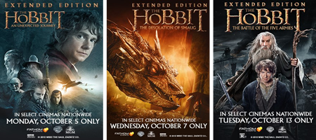 The Hobbit Trilogy: Extended Edition